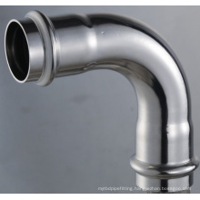 54*54 En 316L Pipe Fittings Bend 90 Degree